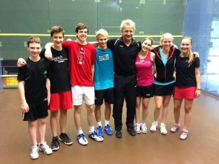 Elite belgian Squash Camp